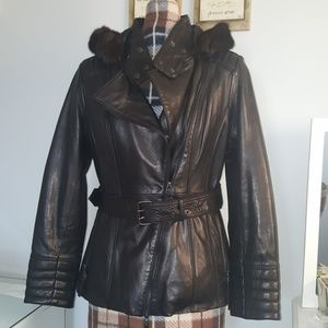 Wilsons leaather Genuine leather coat
